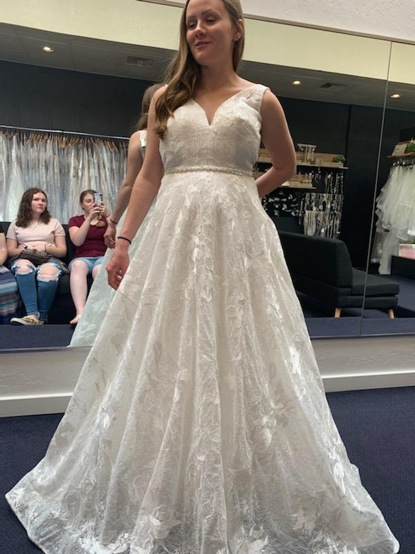 a pregnant bride