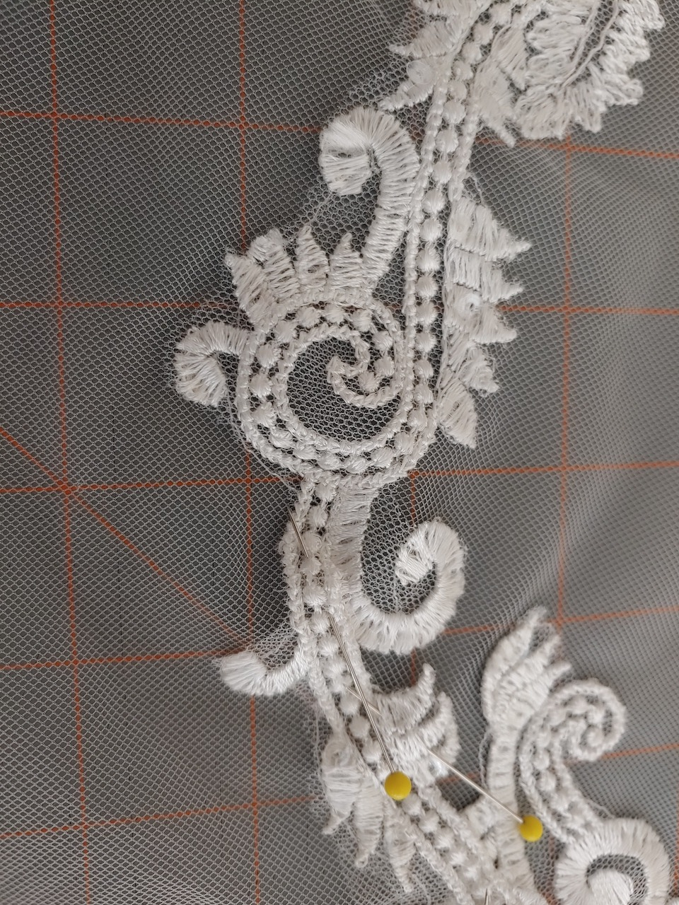 lace patterns for a netting border