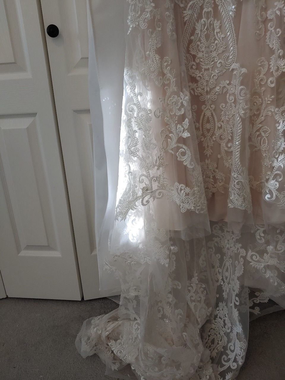 lace used to make bridal gowns